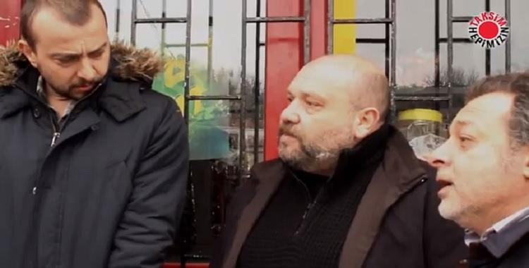 Leyla İle Mecnun Dizi Oyuncularından Taksim'e Destek