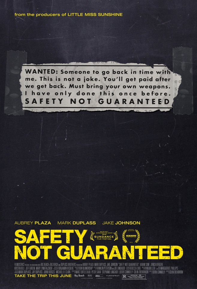 Safety-Not-Guaranteed-Zaman-Yolculari-poster-afis-film