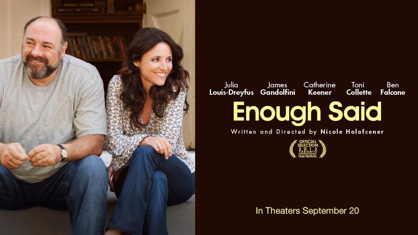 ENOUGH SAID