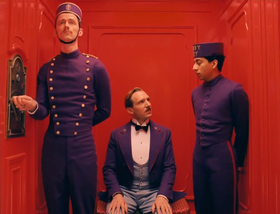 The Grand Budapest Hotel- Wes Anderson