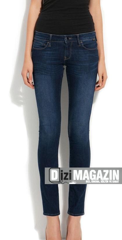 İntikam 27. Bölüm Beren Saat Pantolonu Mavi Jeans