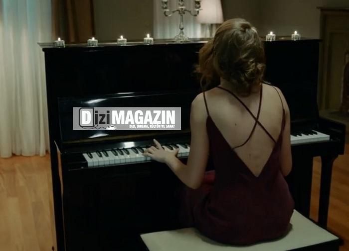 Medcezir - Mira - Serenay Sarıkaya - Bordo Elbise - Mybestfriends