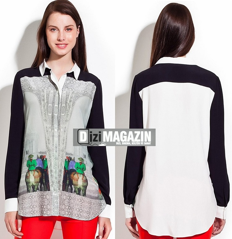 Medcezir - Eylül Gömleği Twist Marka