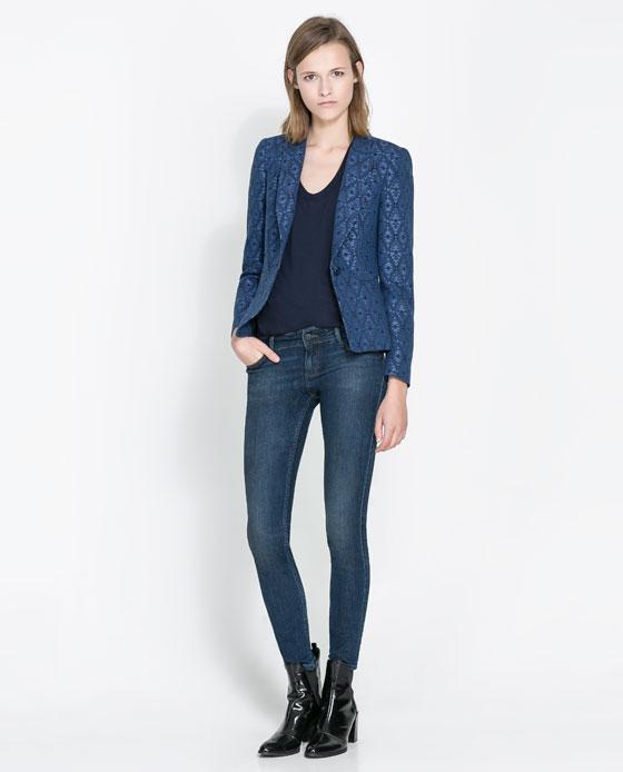 Ender'in mavi ceketi Zara