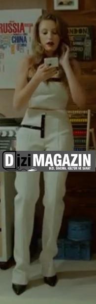 Medcezir 10. Bölüm Mira'nın Pantalon Bluz Takımı Elif Ciğizoğlu