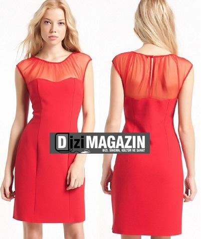 Medcezir Eylül'ün Kırmızı Elbisesi Modagram
