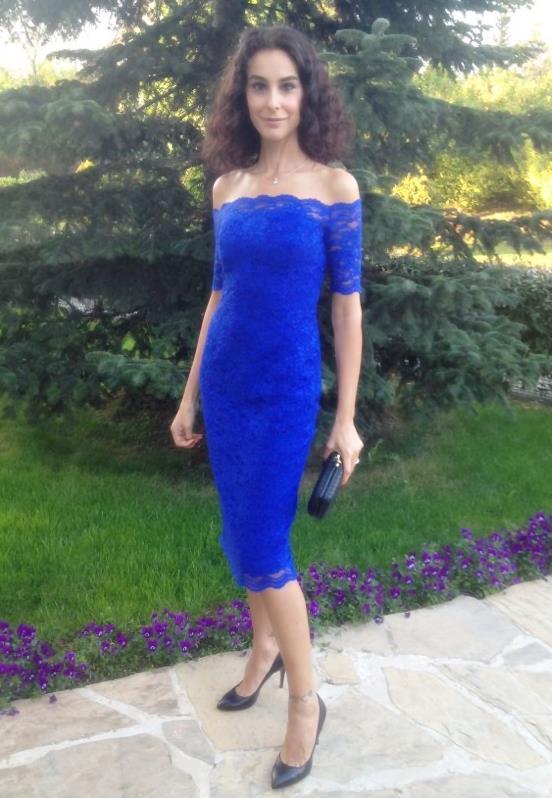 Pınar Ay Tasarımı Elbise