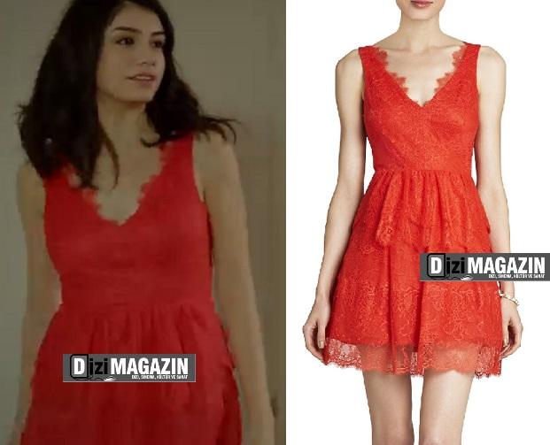Medcezir Eylül Kıyafetleri - Eylül Elbisesi BCBG Max Azria