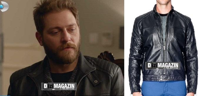 İntikam Ali Kıyafetleri - Siyah Deri Ceket - Network