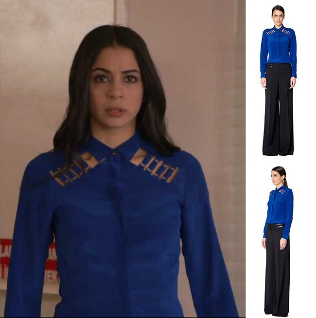 İntikam Dicle Mavi Gömlek