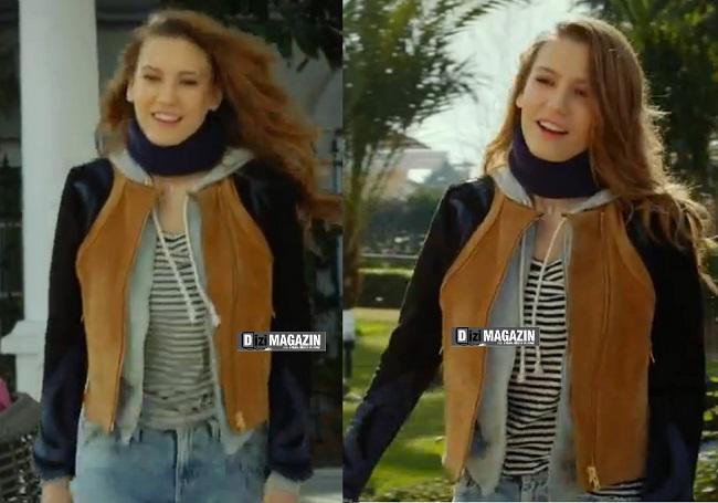 Medcezir - Mira - Serenay Sarıkaya Kıyafetleri - Ceket ve Tişört H&M