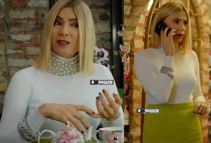 Medcezir Sude Kıyafetleri - Etek ve Kazak