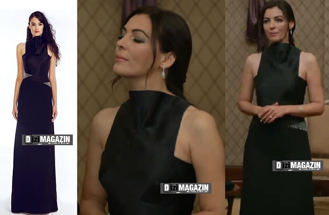 İntikam - Şahika Kıyafetleri - Siyah Elbise - Begüm Salihoğlu