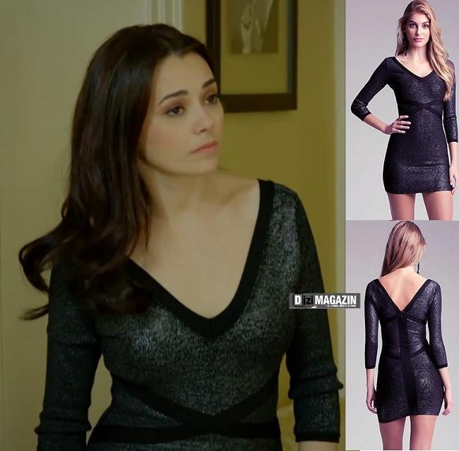 Merhamet Narin Siyah Elbise - Bebe