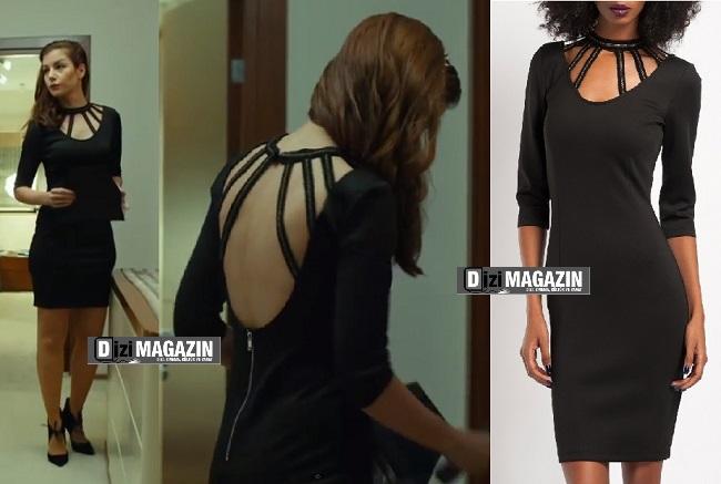 Medcezir Sedef - Siyah Elbise - Modagram