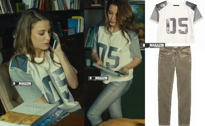 Medcezir Mira - Sweatshirt  ve Pantolon - Berenice