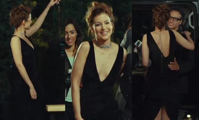 Medcezir Sedef - Siyah Elbise - Aslı Pekçetin