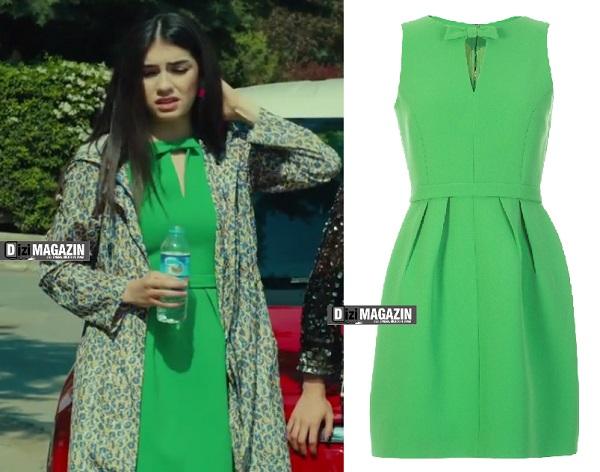 Medcezir Eylül - Yeşil Elbise - Machka