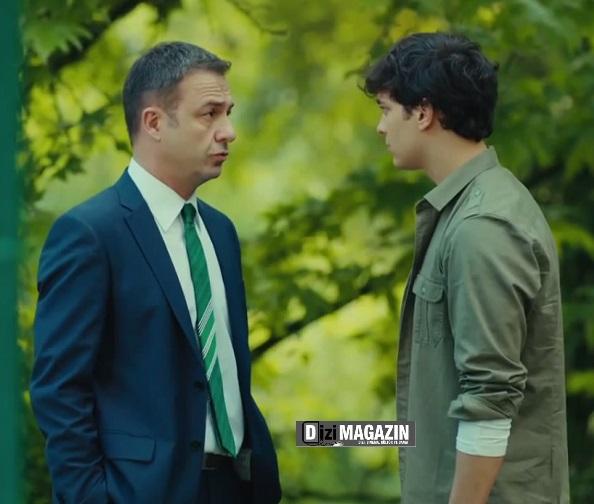 Medcezir Yaman - Yeşil Gömlek - Mavi Marka