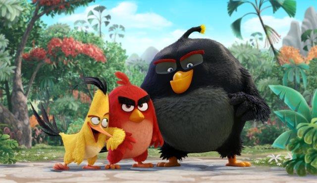 ANGRY BIRDS Filminden İlk Görüntü
