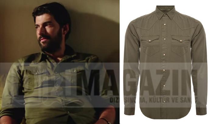 Kara Para Aşk Kıyafetleri - Ömer - Gömlek - Mudo