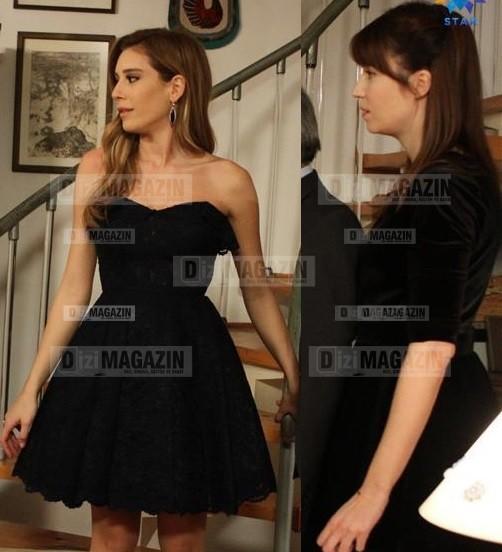 Gönül İşleri - Sevda ve Saadet Elbiseler - Boz Sisters
