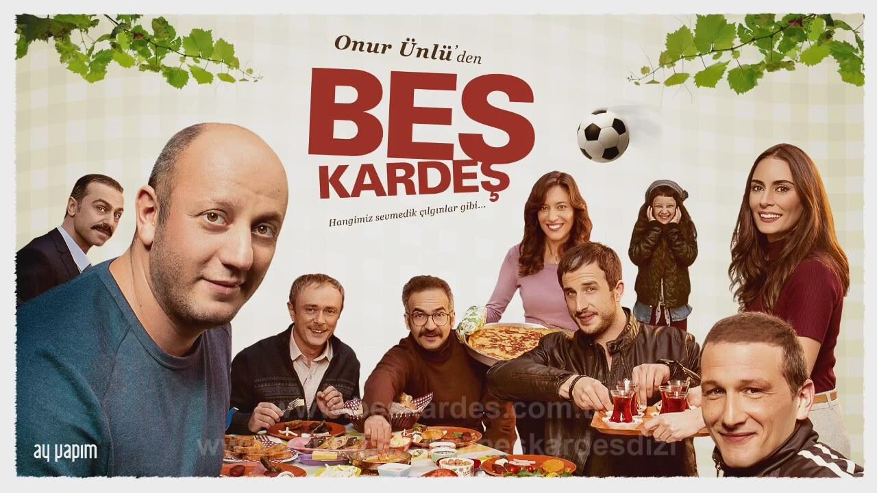 Kanal D'nin Komedi Dizisi Beş Kardeş