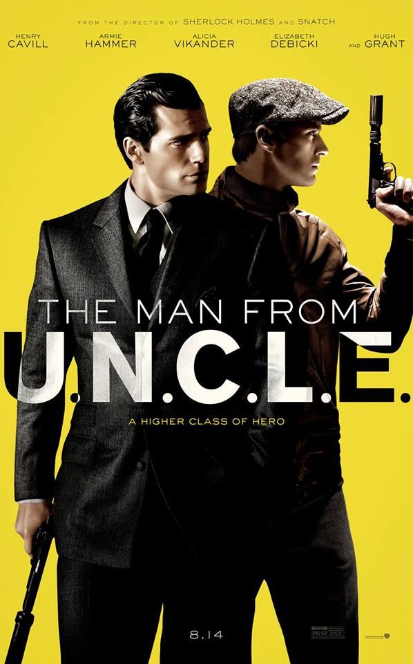 """1960'ların popüler TV dizisinden yeni bir bakış açısıyla Guy Ritchie'nin yönetiminde sinemaya uyarlanan """"Kod Adı: U.N.C.L.E / The Man from U.N.C.L.E."""