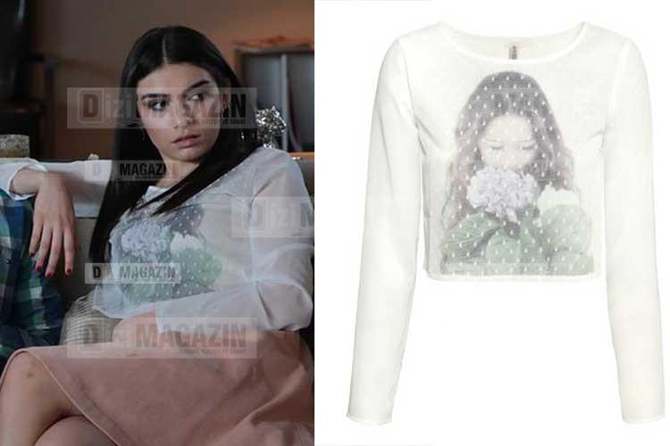 Eylül Beyaz Bluz H&M Marka