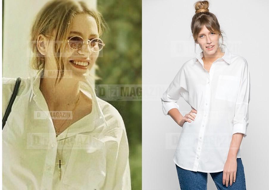Medcezir Mira - Beyaz Gömlek - Modagram