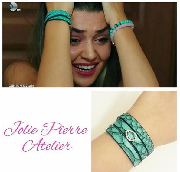 Güneşin Kızları Selin Bileklik - Jolie Pie Atelier