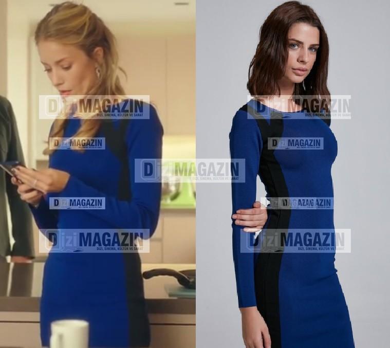 Ufak Tefek Cİnayetler 3. Bölüm Kıyafetleri Pelin Elbise