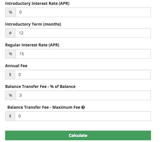 Balance Transfer Card