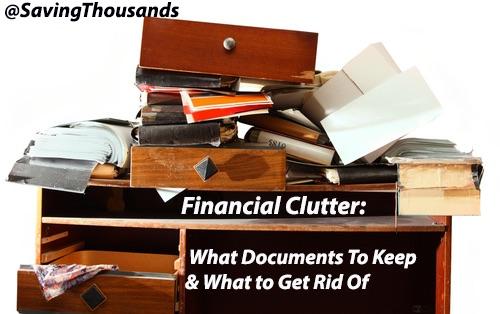 Financial Clutter