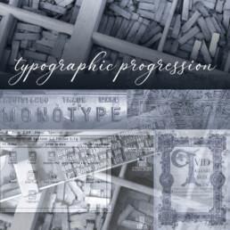 Design Magpie - typographic progression