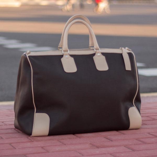 Dark Brown Weekender Bag
