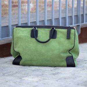 Green Weekender Bag