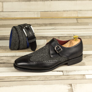 Modern Single Monk shoes style