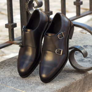 Smart Double Monk shoes
