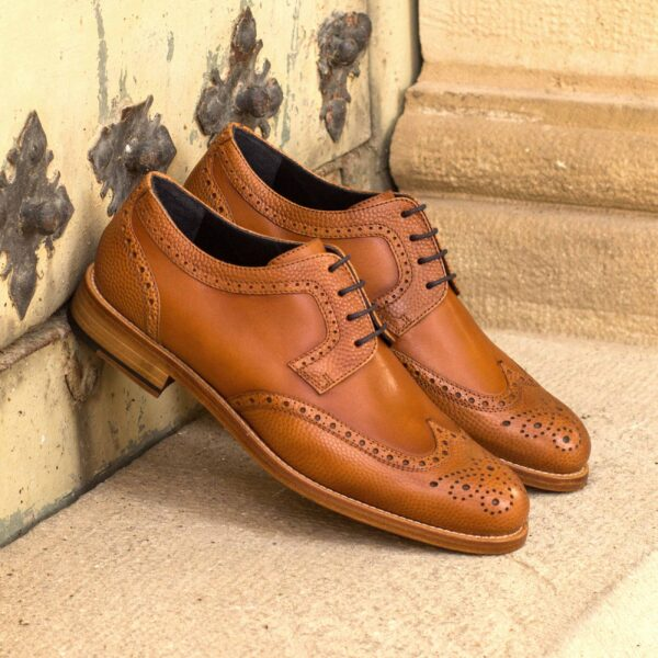 Two tone Derby Wingtip