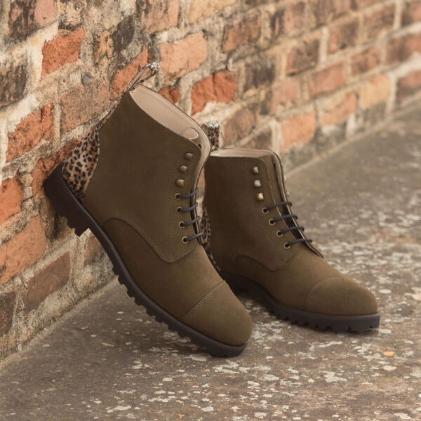 Collection Lace Up Captoe Boot