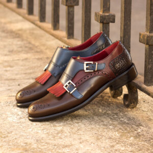 Loafer Kiltie Monk Strap