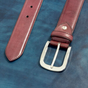 Hamptons burgundy Belt