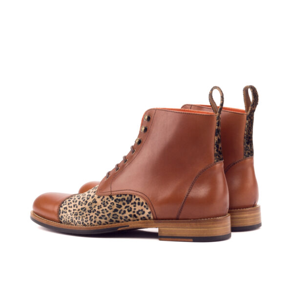 Captoe Lace Up Boot