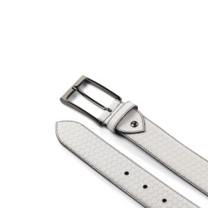 White Hamptons Belts