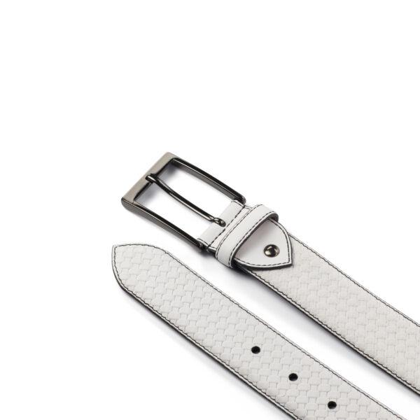 White Hamptons Belts
