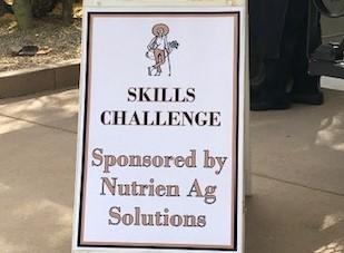Skills Challenge Sponsor Board