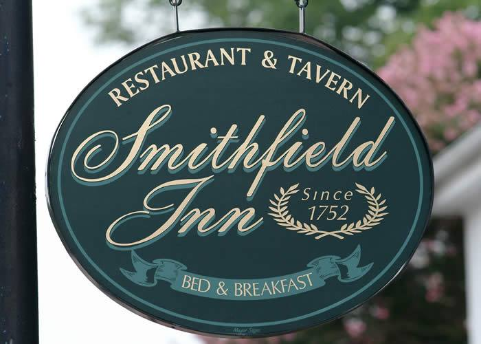 Sign at the Smithfield Inn
