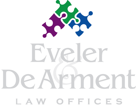 Eveler & DeArment Law Offices Logo