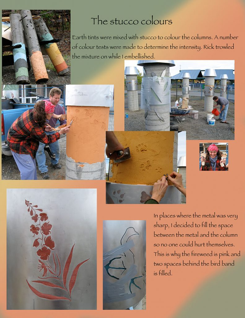 page 5 the stucco colours
